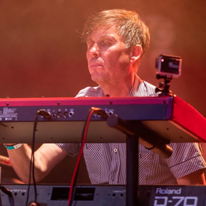 """Franz """"Judge Franklyn"""" Erlmeier (Keyboards)"""
